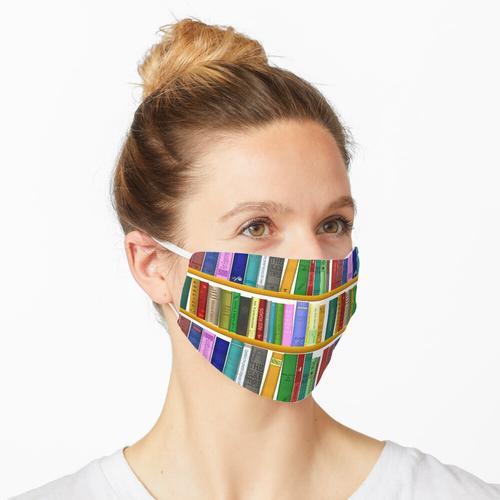 Bücherregal Maske