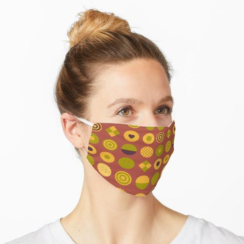 Matcha-Kekse Maske