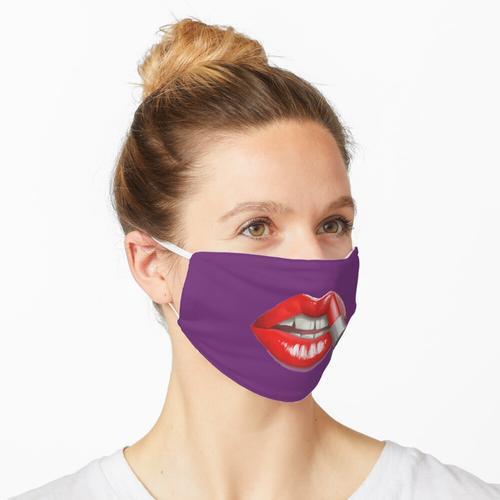 Lippenstift Lippen Maske