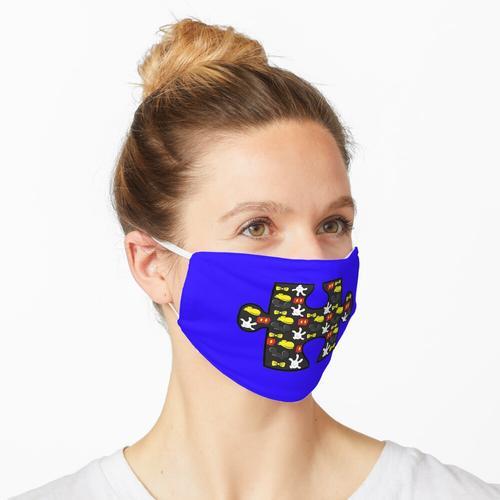 Maus Puzzleteil Maske