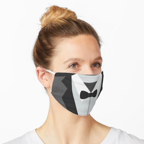 Anzug Socken Maske