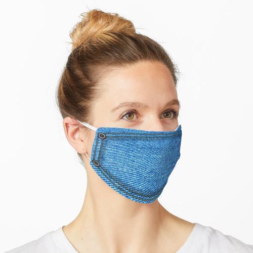 Jeans Jeans Maske mit Nieten Maske