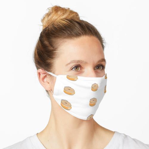 Lox und Frischkäse Bagel Maske