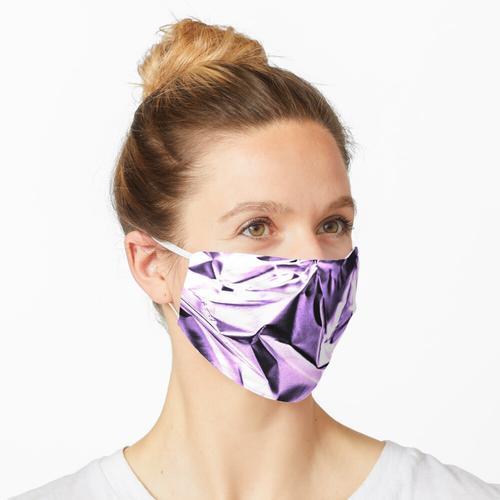 lila Folientextur Maske