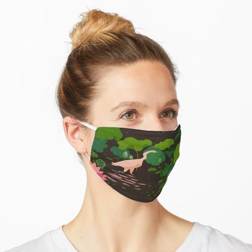 Lotusfelder Maske
