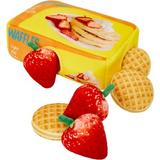 Frisco Retro Waffle Box Hide and Seek Plush Puzzle Squeaky Dog Toy