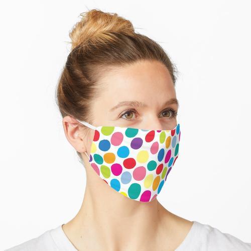 Farbflecken Maske