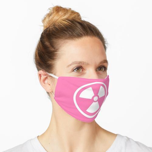 Rosa radioaktiv Maske