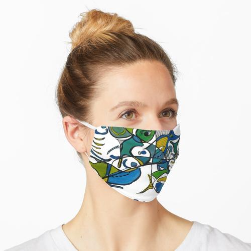 Net Angeln Maske