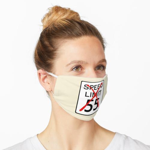 Geschwindigkeitsbegrenzung 55 Maske