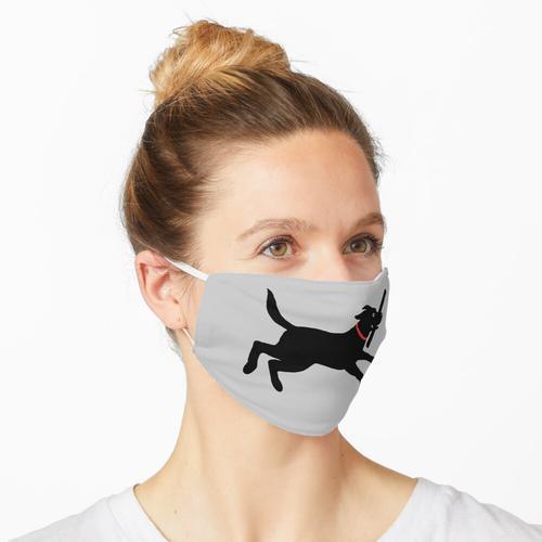 Vinyl-Aufkleber Maske