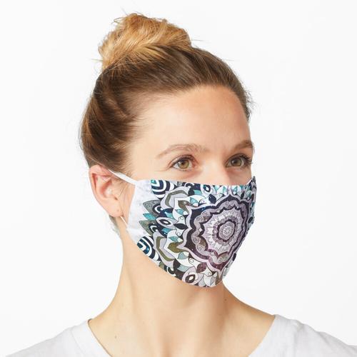 BLAU FREESOUL MANDALA Maske
