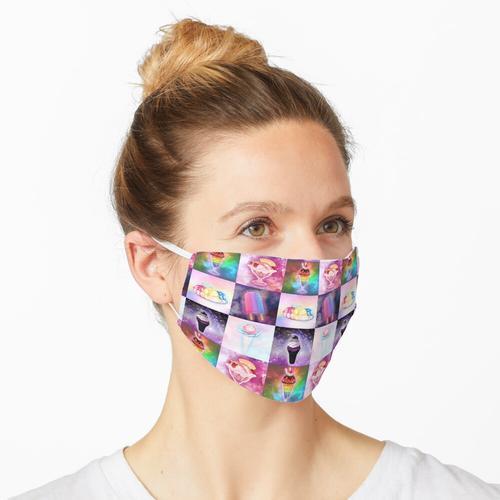 Liebe kommt in allen Geschmacksrichtungen Maske