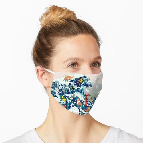 verschmutzte Welle Maske
