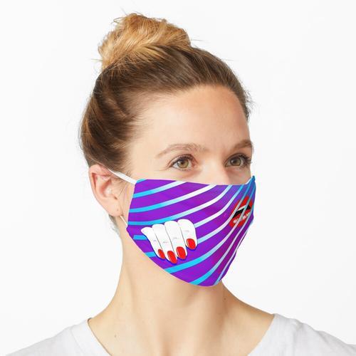 Spionage hinter den Jalousien Maske