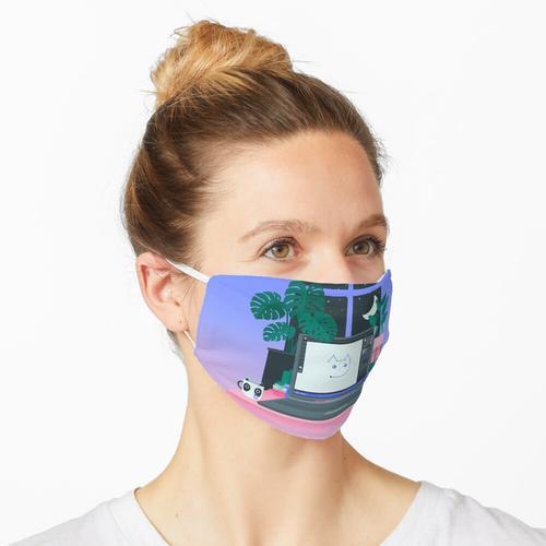 Arbeitsplatz Maske