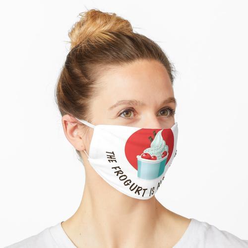 Frogurt Maske