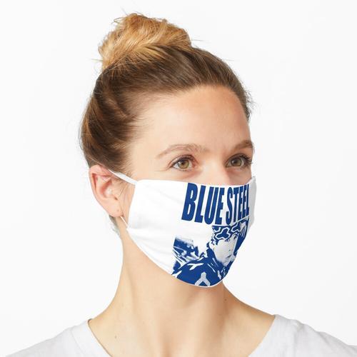 Blauer Stahl Maske