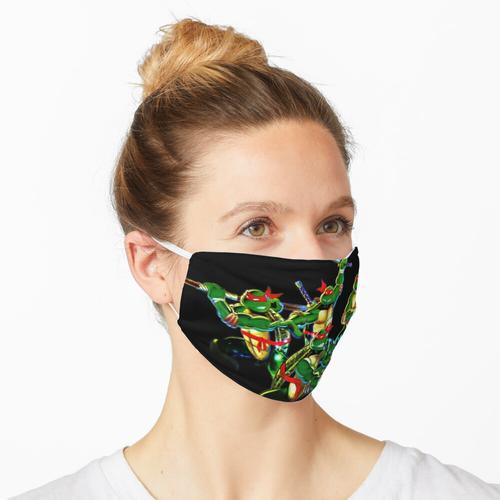 tmnt nes Abdeckung Maske