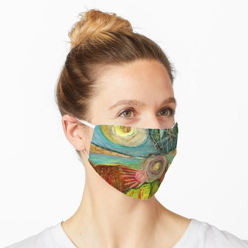 Im Fenster... Maske