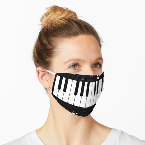 Klavier Hintergrund Maske