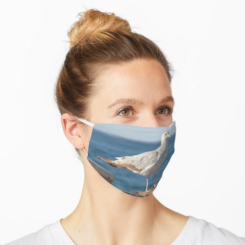 Vorsichtige Möwe Maske