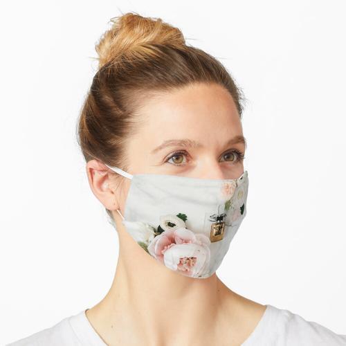 Luxus-Parfümflasche Maske