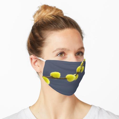 Weidenkätzchen Maske