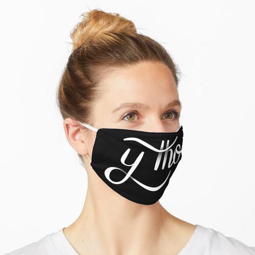 Y Tho | Hand beschriftet Maske