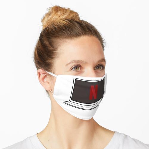 Netflix Laptop Maske