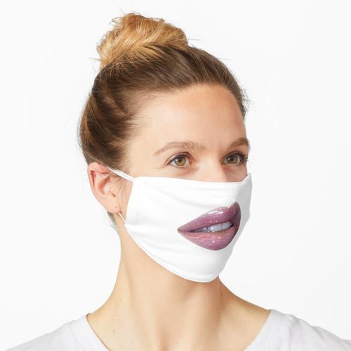 Glossier Lips Pink Lipgloss Maske