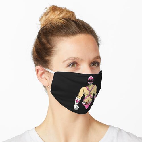 Rosa Fetisch Maske