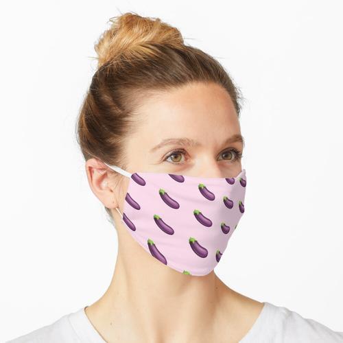 Auberginen-Aubergine Maske