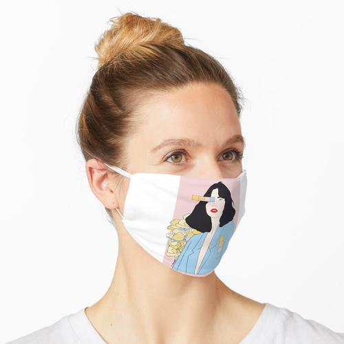 Die moderne Frau Maske