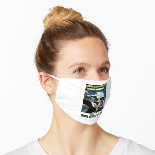 mit Fernglas Maske