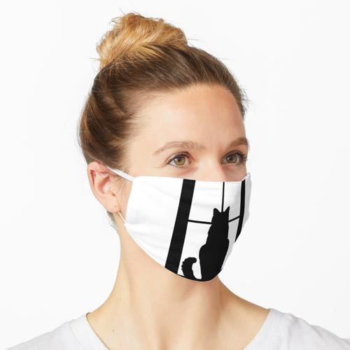 Fenster Cat Maske