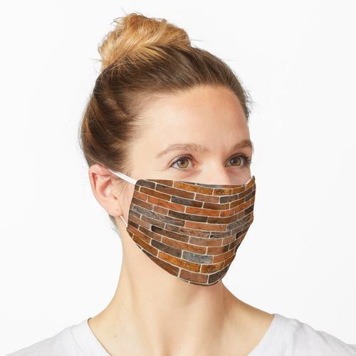 Ziegelwand Maske