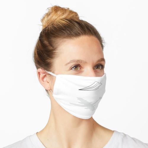 Papierflieger Maske