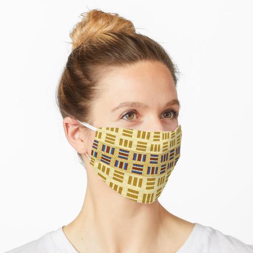 Textile und Muster Maske