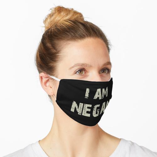 Ich bin Negan - coole TV-Dusche Fans Design Walking Maske