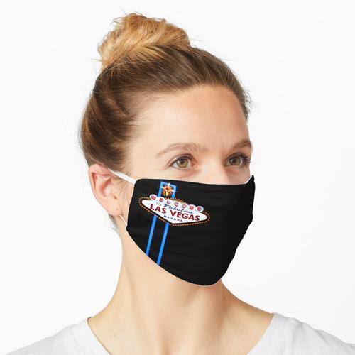 Las Vegas Willkommensschild Neon Maske