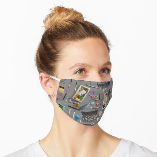 Künstlerbedarf Maske