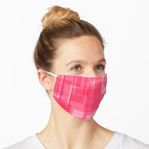 Virtuelles Pink Maske