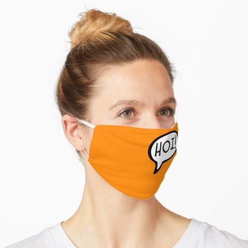 HOI! Niederländisch für Hallo, Gruß, Hallo, Niederlande, Niederlande Maske