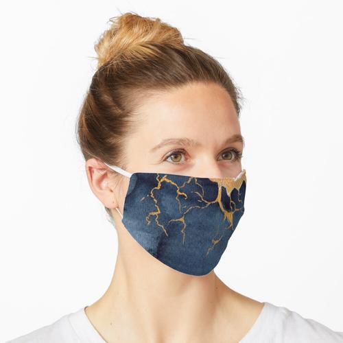 Goldener Bär Maske