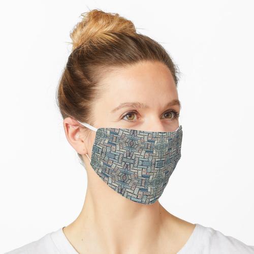 Gepflastert Maske