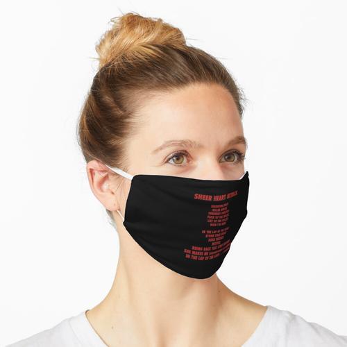 Sheer Herzinfarkt Maske