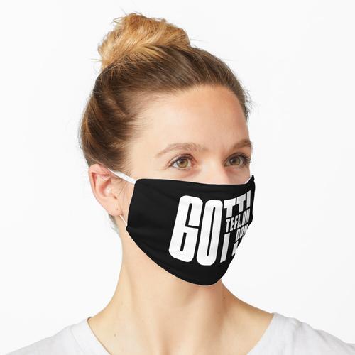 Gotti Das Teflon Don Black Maske
