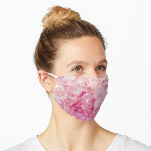 Pinker Kristall Maske