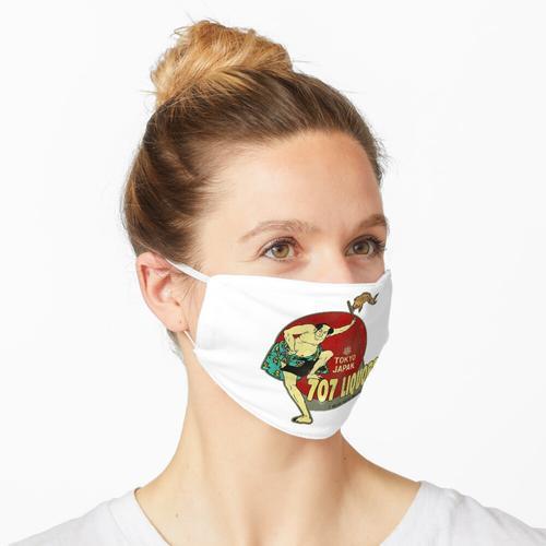Vintage japanische Schnaps Maske